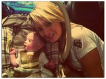 16 and Pregnant's Kristina Robinson and son Lukas in New York City