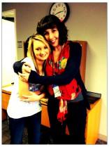 16 and Pregnant Season 4 Kristina Robinson with Rachel in New York City