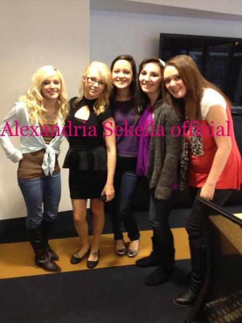 MAckenzie Douthit, Lindsey Harrison, Sarah Roberts, Alexandria Sekella, and Katie Yeager