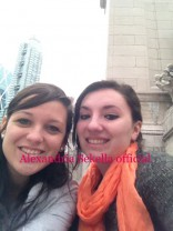 Sarah Roberts and Alexandria Sekella in New York City