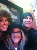 Mandy Jo Walker Jenelle Evans and boyfriend Gary Headin New York City