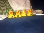 Teen Mom Reunion rubber duckies