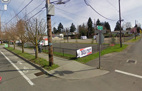 11814 NE Sandy Blvd. in Portland where the All States Motel owned by Georgia and Todd Hoffman used to be