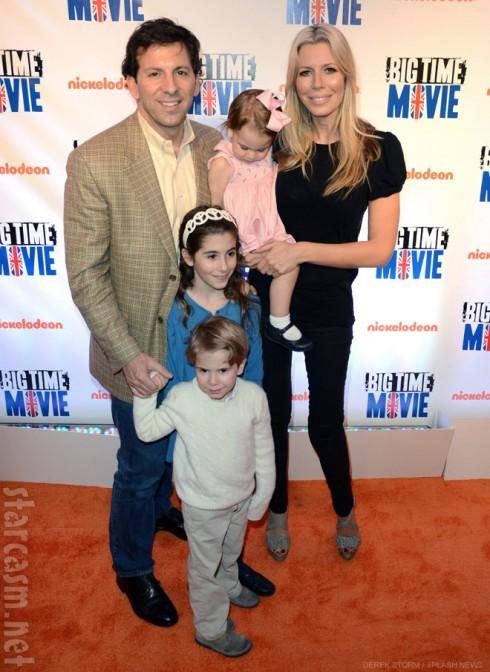 Aviva Drescher with husband Reid and children Veronica Hudson and Sienna