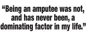 Aviva Drescher quote about amputation