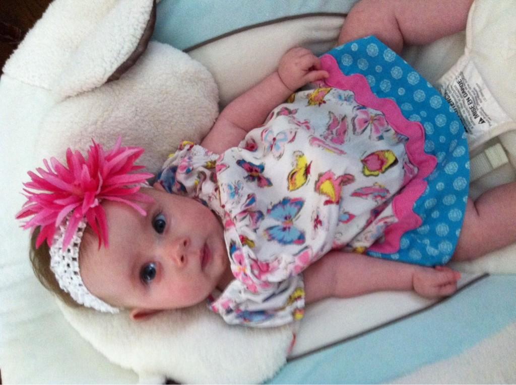 Baby Avery Canahuati of Avery's bucket list