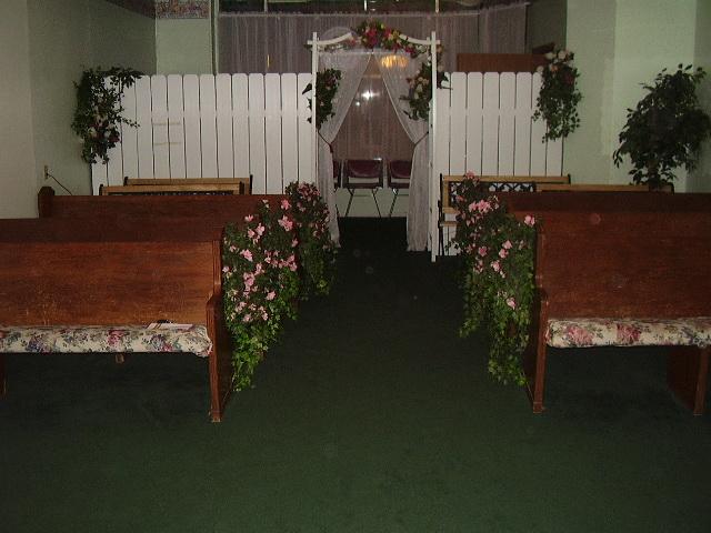 Catlettsburg Wedding Chapel where Leah Messer Simms and Jeremy Calvert were married April 4