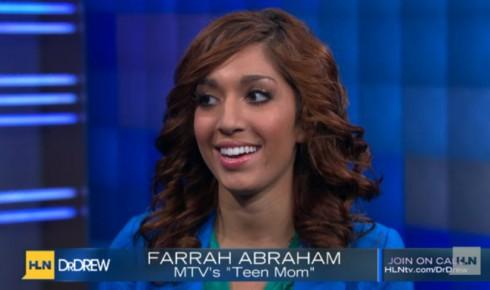 Teen Mom Farrah Abraham on Dr. Drew's call in show on HLN