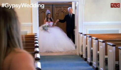 Shyanne's wedding dress from My Big Fat American Gypsy Wedding