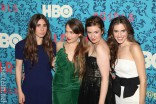 HBO Girls cast at the Girls Premiere in New York City on April 4 2012