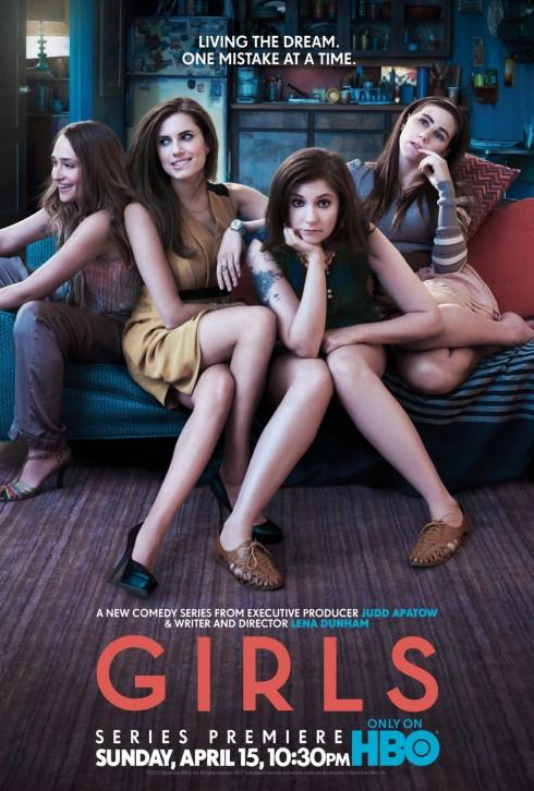 HBO Girls poster