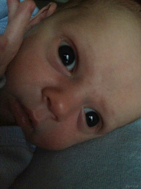 Photo of Hilary Duff's son Luca