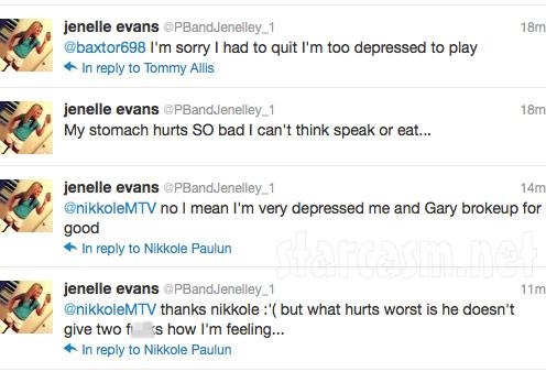 Jenelle Evans tweets about break up with boyfriend Gary Head
