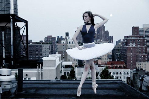American ballet dancer Joy Womack