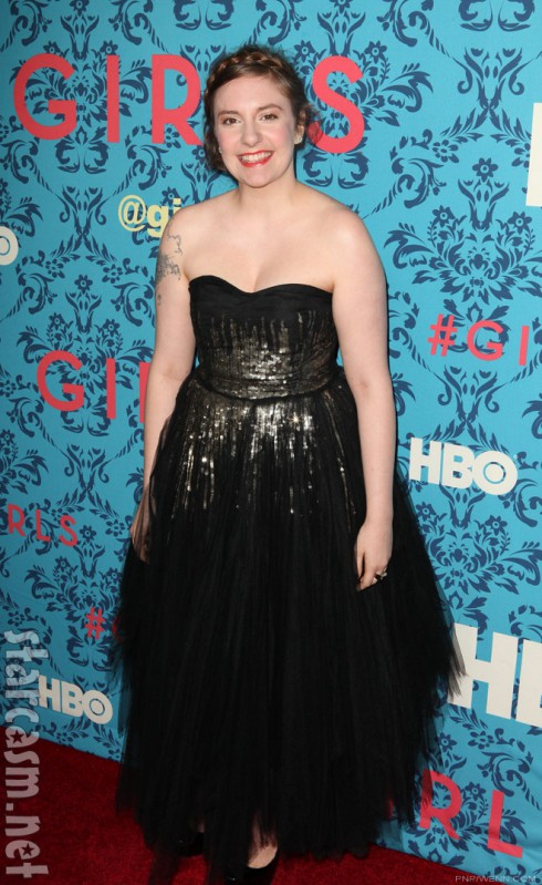 at the HBO Girls Premiere in New York City on April 4 2012