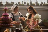 Lily Collins as Snow White in Mirror Mirror with Mare Winningham