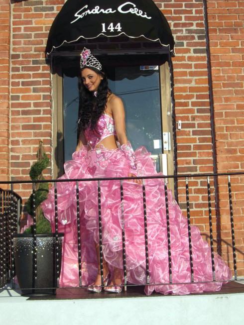 My Big Fat America Gypsy Wedding Priscilla pink dress