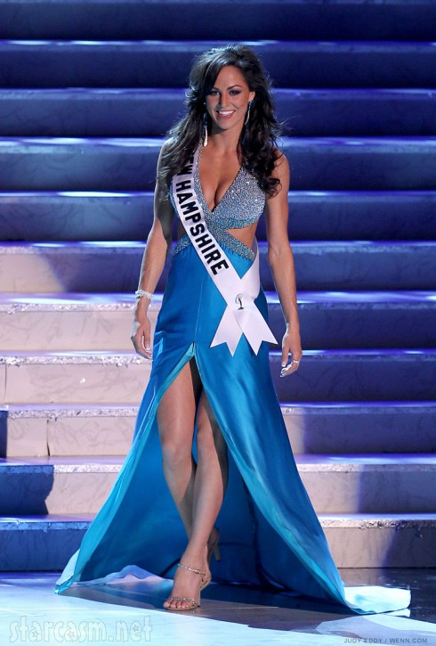 Nicole Houde 2010 Miss USA pageant photo as Miss New Hampshire