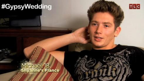Shyanne's fiance Michael from My Big Fat American Gypsy Wedding