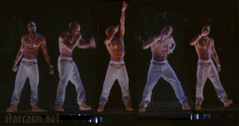 HD VIDEO Tupac hologram performs at Coachella with Snoop Dogg
