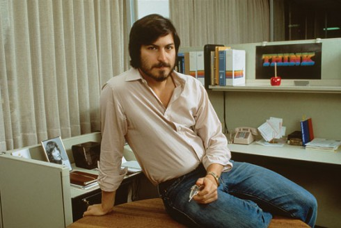 Young Steve Jobs from the 1970s looked like Ashton Kutcher