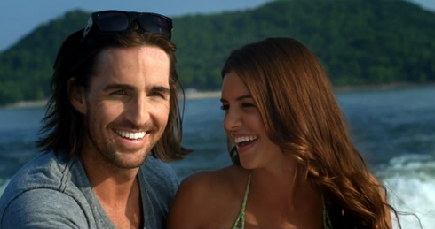 "Jake Owen and Lacey Buchanan in ""Barefoot Blue Jean Night"""