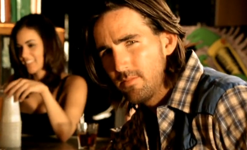 "Jake Owen in ""Eight Second Ride"" video"