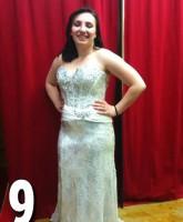 Teen Mom 3 Alex Sekella tries on a gorgeous prom dress