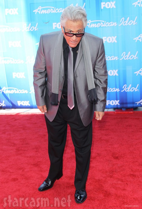 Barry Weiss on the red carpet at the American Idol Season 11 Finale Event 2012