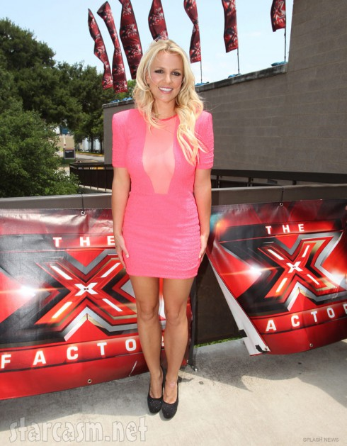 Britney Spears at X Factor Season 2 auditions in Austin Texas