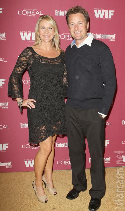 Chris Harrison with wife Gwen Jones in 2011