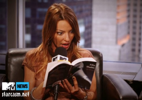 Mob Wives Drita DAvanzo reads from 50 Shades of Grey