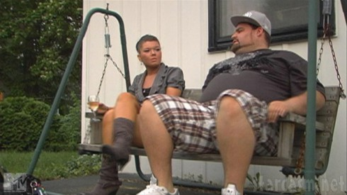 Gary Shirley and Amber Portwood from Teen Mom Season 4 Episode 1