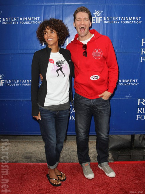 Halle Berry Matthew Morrison Revlon Run Walk