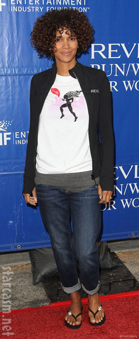 Halle Berry 19th Annual EIF Revlon Run Walk