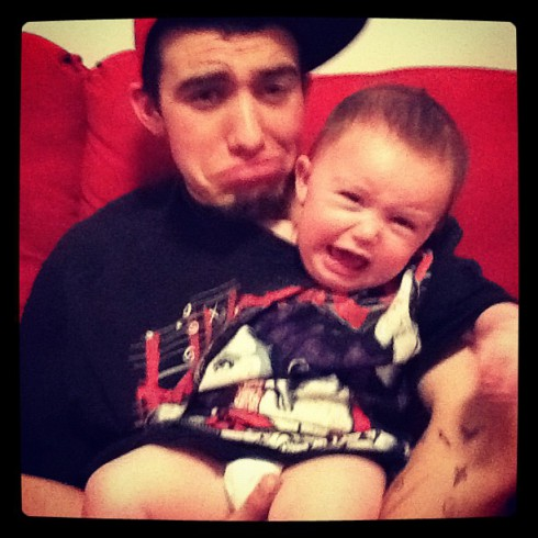 Teen Mom 3 Katie Yeager's baby daddy Joey Maes and daughter Molli