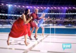 Kyle NeNe and Ramona in a cocktail race from the 2012 Summer by Bravo commercial