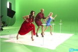 Kyle Richards NeNe Leakes Ramona Singer behind the scenes of the 2012 Summer by Bravo commercial
