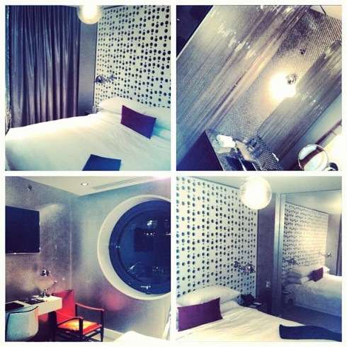 Maci Bookout's hotel roon in New York City for the Teen Mom Season 4 Reunion