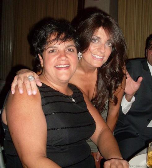 Rosie Pierri and sister Kathy Wakile