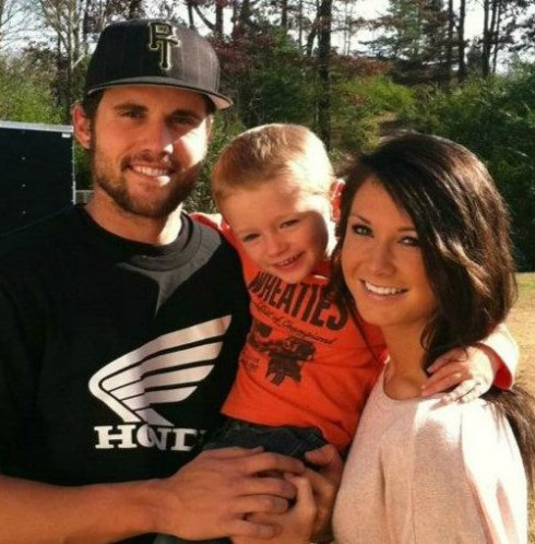 Ryan Edwards, his son Bentley, and ex girlfriend Dalis Connell