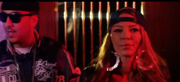 VIDEO: Watch Drita D'Avanzo play a bank robber in French