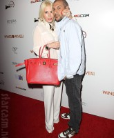 Shayne Lamas and Nik Richie at the Wines By Wives launch event May 8 2012