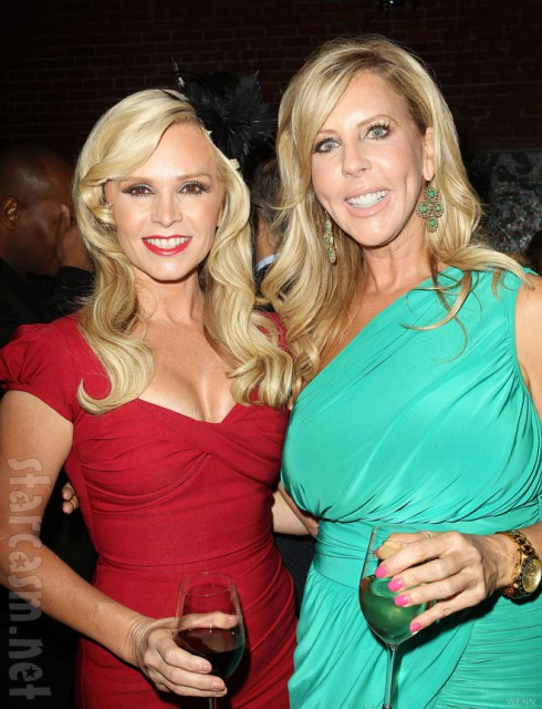 Tamra Barney and Vicki Gunvalson at Wines By Wives launch party