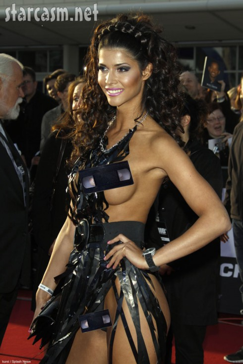 Micaela Schaefer video dress nip slip