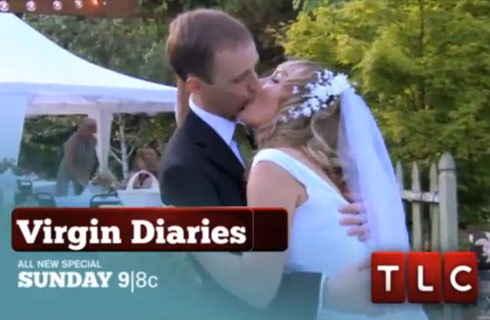 Ryan and Shanna's first kiss on TLC show The Virgin Diaries