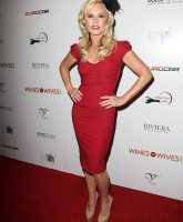 Tamra Barney on the red carpet at the Wines By Wives launch event May 8 2012