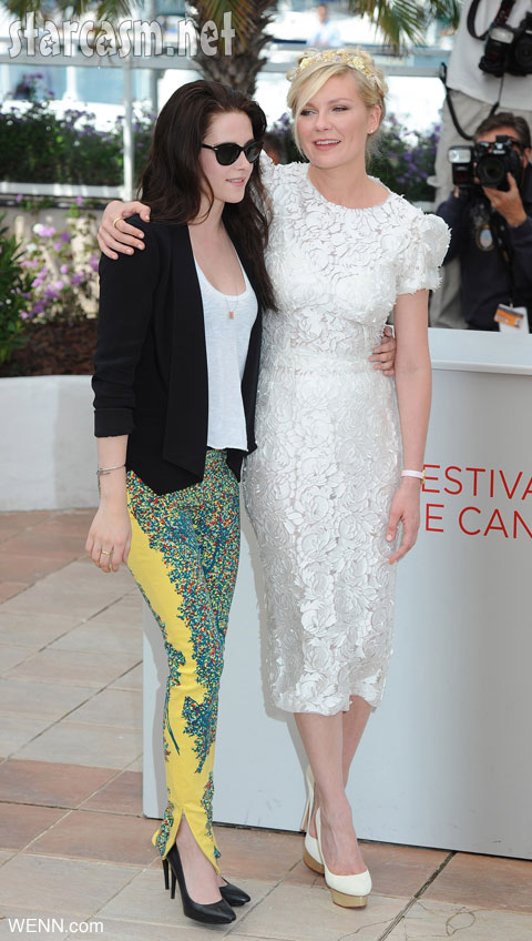 Kristen Stewart crazy pants Cannes On The ROad