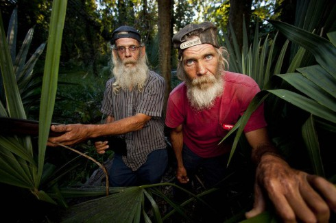Guist brothers Glenn Guist and Mitchell Guist from Swamp People