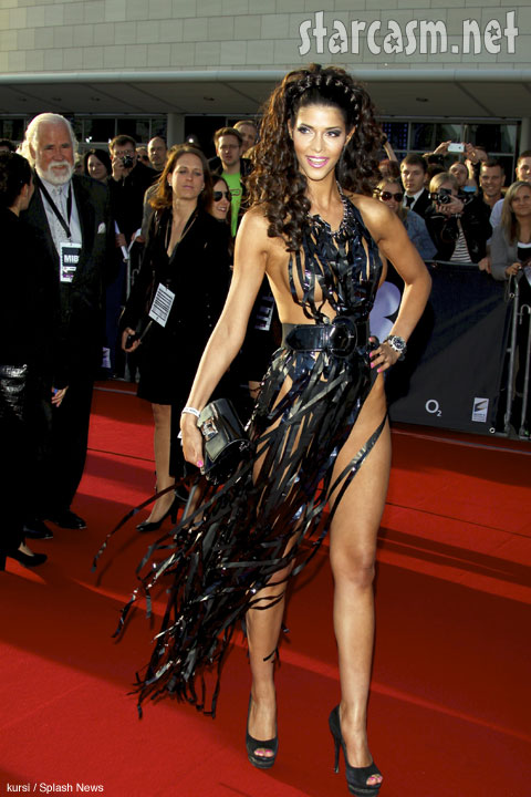 Fashion Moment Video Tape Dress Worn By Micaela Schaefer At Men In